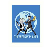 The Weekly Planet Art Print