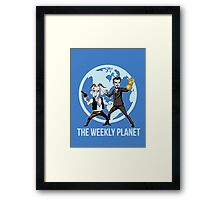 The Weekly Planet Framed Print