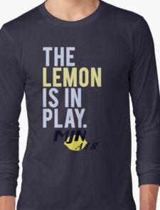 The Travelling Lemon Long Sleeve T-Shirt