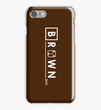 Brown Doc iPhone Case/Skin