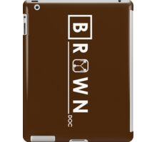 Brown Doc iPad Case/Skin