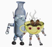 CoffeeBot and MilkBot by Valxart by Valxart