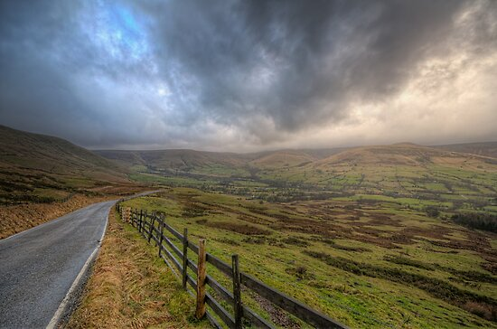 Edale Valley, Derbyshire,UK by cameraimagery