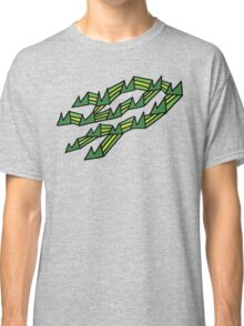 30 Mountains Decoratively Squished Onto My Chest Classic T-Shirt