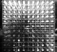 The Cube of Squares. Yahoo! Campus, Sunnyvale, California by Igor Pozdnyakov