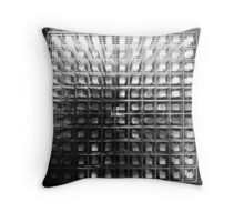 The Cube of Squares. Yahoo! Campus, Sunnyvale, California Throw Pillow