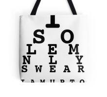 Marauders' Eye Chart Tote Bag