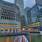 Canary Wharf - London HDR - 1 by Colin J Williams Photography