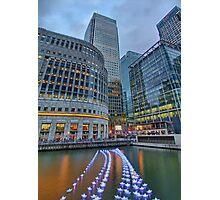 Canary Wharf - London HDR - 1 Photographic Print