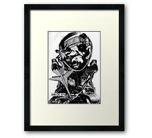 Car Thief 7. Framed Print