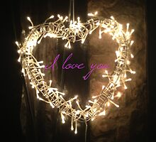 I love you by Robert Steadman