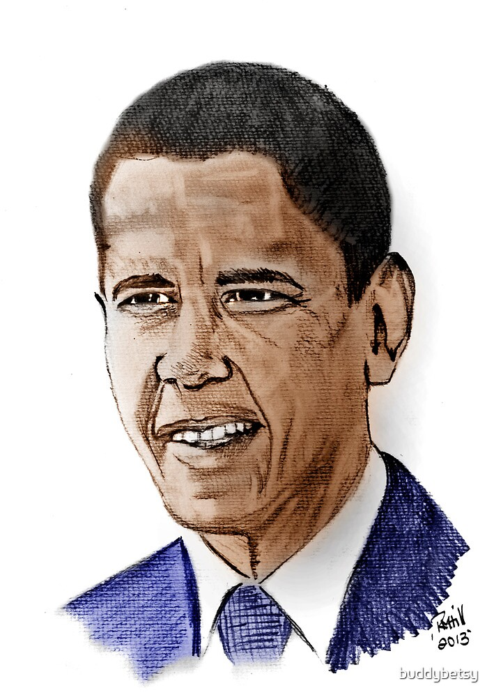 Barack Obama by buddybetsy