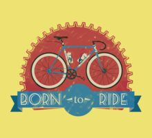 Born To Ride Kids Tee