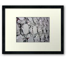 iced~ Framed Print