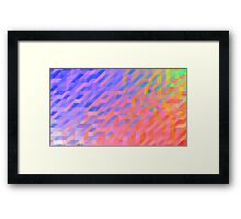 Abstract Wallpaper Framed Print