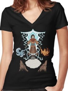 Convergence Women's Fitted V-Neck T-Shirt