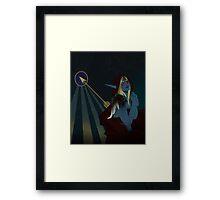Lady Sylvanas Windrunner Tarot Card Framed Print