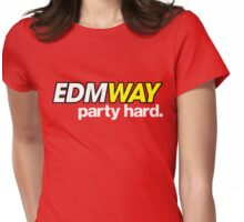 EDMWAY  Womens Fitted T-Shirt
