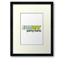 EDMWAY  Framed Print