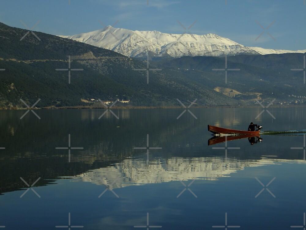 Christmas Eve on Lake Pamvotis by Themis