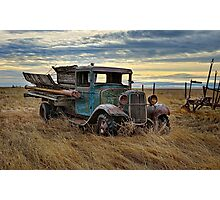 Working Retired Ford - Natural Photographic Print