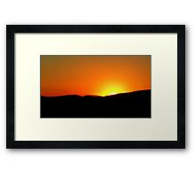 ©HCS Orange In Your Eyes Framed Print