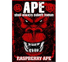 Raspberry Ape v2.0 Photographic Print