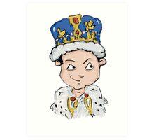 Sherlock Moriarty Andrew Scott Cartoon Art Print