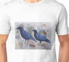 Crows on the trail Unisex T-Shirt