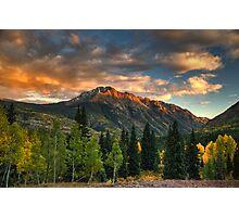 North Twilight Peak Photographic Print