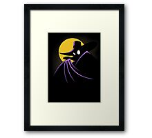 The Terror that Flaps in the Night Framed Print