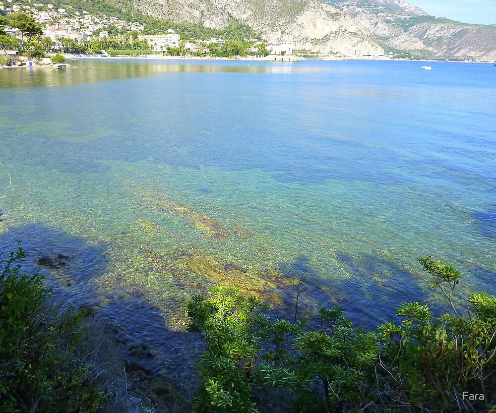 View From Cap Ferrat by Fara