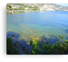 View From Cap Ferrat Canvas Print