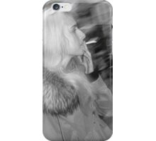 Smoking in London iPhone Case/Skin