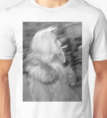 Smoking in London Unisex T-Shirt