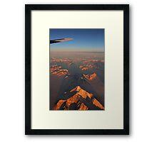 Icy splendour Framed Print