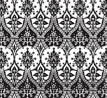 Black and White Ornate Pattern by Greenbaby