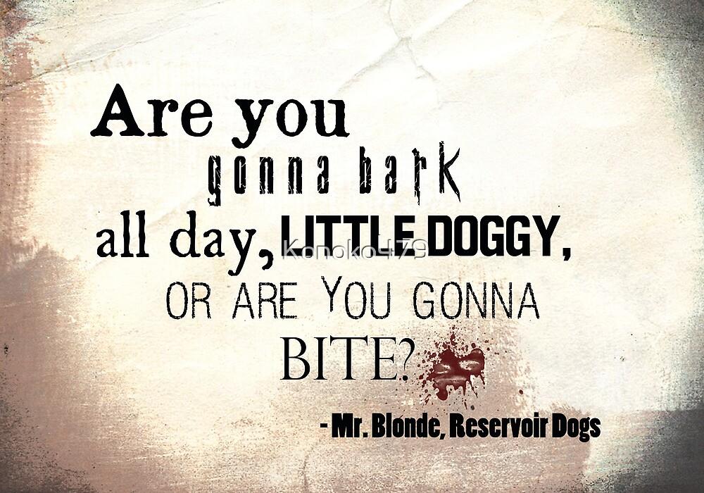 Little Doggy by Konoko479