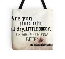 Little Doggy Tote Bag