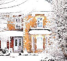 snowfall.. by JOSEPHMAZZUCCO