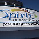MV Spirit of Port Stephens by Joe Hupp