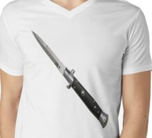 Switchblade Mens V-Neck T-Shirt