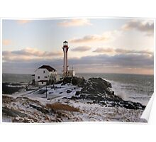 Cape Forchu Winter Poster