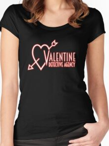 Valentine Detective Agency Women's Fitted Scoop T-Shirt