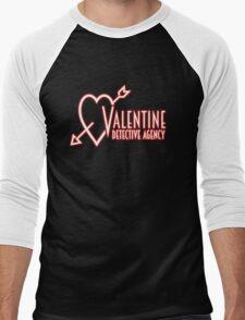 Valentine Detective Agency Men's Baseball ¾ T-Shirt