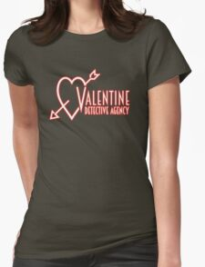 Valentine Detective Agency Womens Fitted T-Shirt