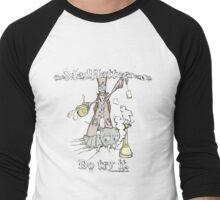Mad Hatter Tea Co. Men's Baseball ¾ T-Shirt