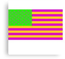 American Flag Alternate Colors #2 Canvas Print