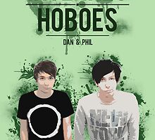 Dan & Phil - Green by polkadotpotato