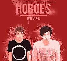 Dan & Phil - Red by polkadotpotato